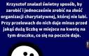 Sposób na zarobek Krzysztofa