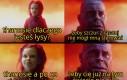 Czerwony Kapturek i Thanos