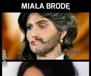 Kobiety z brodą już były
