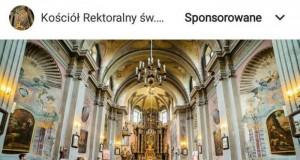 Reklama kościoła na insta. Widziałem już wszystko!