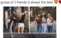 3-osobowe maczki przyjaciół są najlepsze