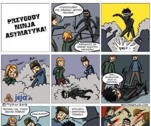 Gdyby ninja miał astmę