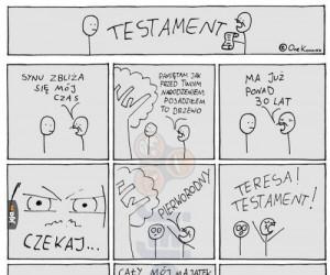 Nagła zmiana testamentu