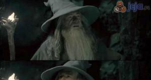 O co chodzi Gandalfowi?