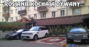 Rosjanie kochają dywany...