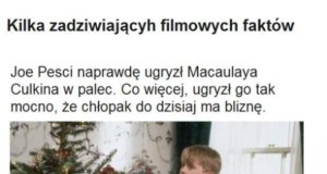 Kilka filmowych faktów