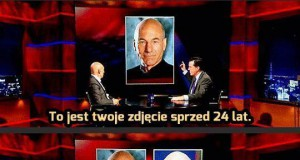 Patrick Stewart: długowieczny jak Marian Paździoch