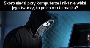 Autorzy zdjęć stereotypowych hakerów powinni to jeszcze raz przemyśleć