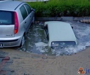 Nie o taki parking chodziło