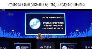 Tymczasem na konferencji PlayStation 4