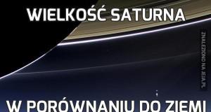 Wielkość Saturna
