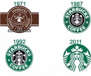 Ewolucja logo Starbucksa