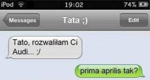 SMS do taty