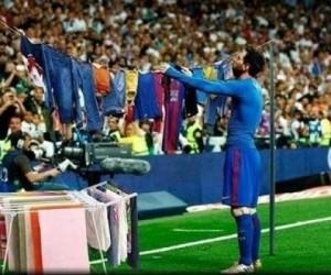 Gest Messiego po meczu z realem to temat na memy