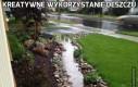 Kreatywne wykorzystanie deszczu