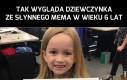 Dziewczynka z mema