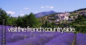 Odwiedzić francuską wieś