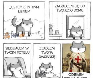 Lisek chytrusek