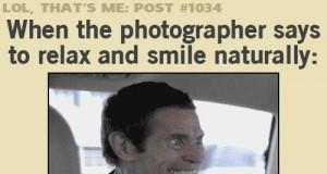 Szczery uśmiech