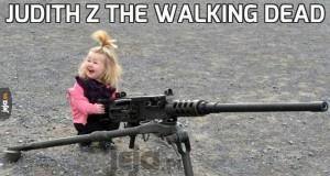 Judith z The Walking Dead