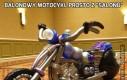 Balonowy motocykl prosto z