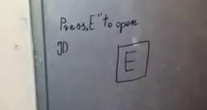 Wciśnij E, aby otworzyć