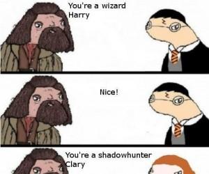 Hagrid prawdę Ci powie!