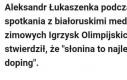 Najlepszy białoruski doping