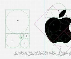 Geometria nadgryzionego jabłuszka