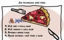 Jak prawidłowo jeść pizzę