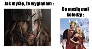 Przebierz się za wikinga - mówili...