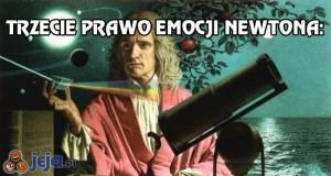 Trzecie prawo emocji Newtona