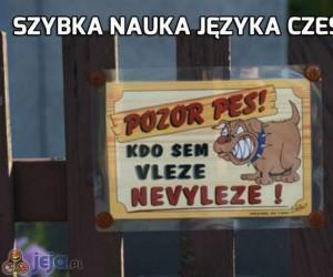 Szybki kurs czeskiego