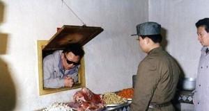 Kim Dzong w okienku