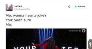 Chcesz usłyszeć żart?