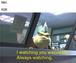 Oni zawsze patrzą