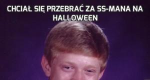 Chciał się przebrać za SS-mana na Halloween