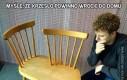 Myślę, że krzesło powinno wrócić do domu