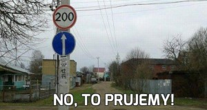 No, to prujemy!
