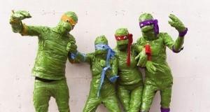Budżetowy cosplay Żółwi Ninja