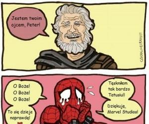 Niejednemu superbohaterowi Peter na imię