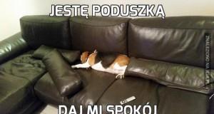 Jestę poduszką