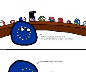 Spotkanie Rady Europejskiej