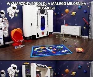 Wymarzony pokój dla małego miłośnika kosmosu