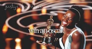 Dostać Oscara