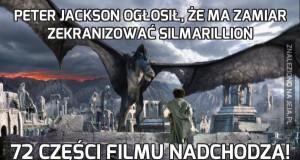 Peter Jackson ogłosił, że ma zamiar zekranizować Silmarillion