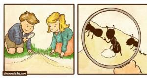 I wzajemnie, panie mrówko