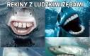 Rekiny z ludzkimi zębami