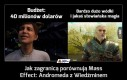 Jak zagranicą porównują Mass Effect: Andromeda z Wiedźminem