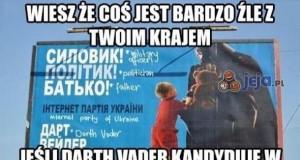 Darth Vader na prezydenta